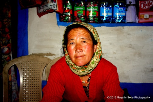 Sonam Pangri from Pang